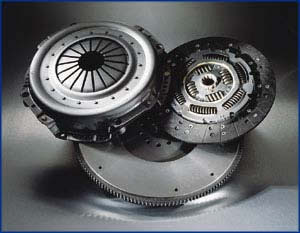 Picture of solid-flywheel clutch kit from LuK